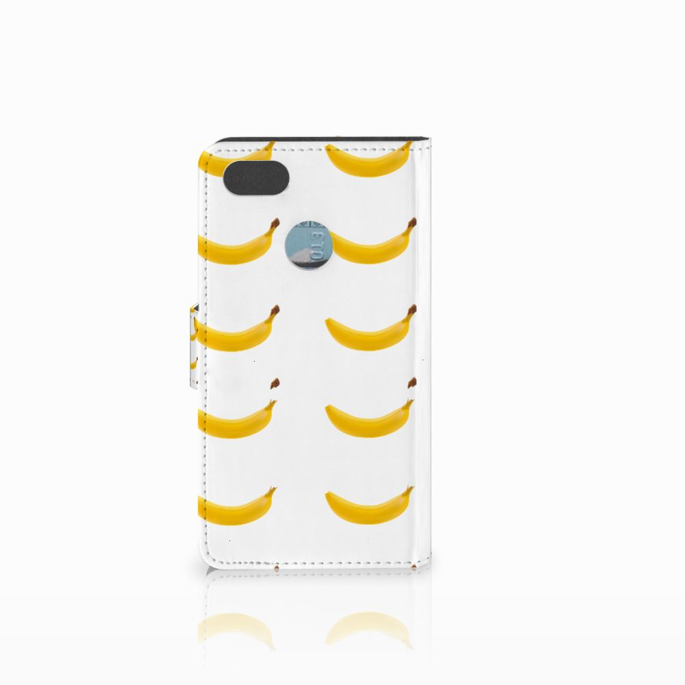 Huawei Y6 Pro 2017 Book Cover Banana