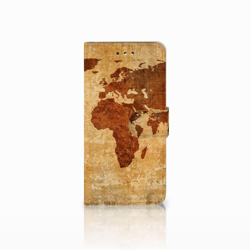 LG G7 Thinq Boekhoesje Design Wereldkaart