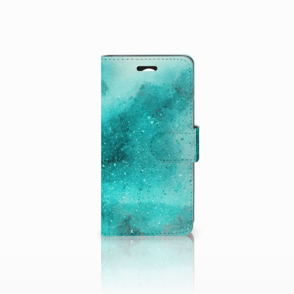 Huawei Y3 2 | Y3 II Uniek Boekhoesje Painting Blue