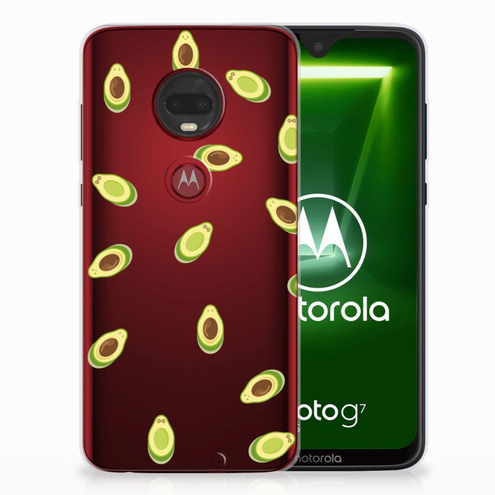 Motorola Moto G7 | G7 Plus Siliconen Case Avocado