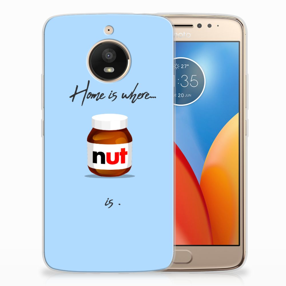 Motorola Moto E4 Plus Siliconen Case Nut Home