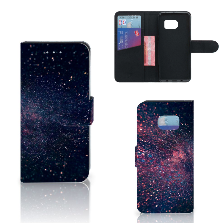 Samsung Galaxy S6 Edge Bookcase Stars
