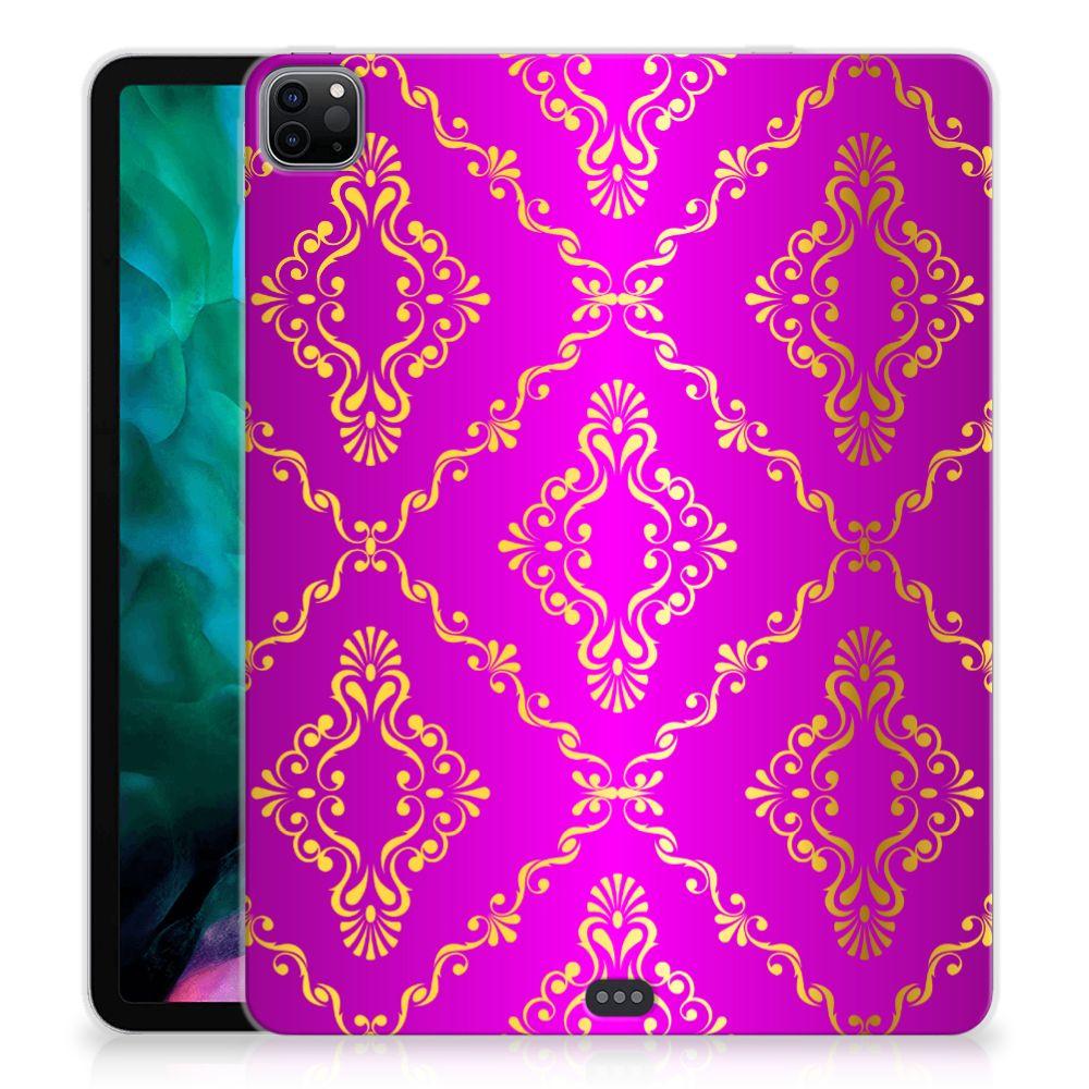 TPU Case iPad Pro 12.9 (2020) Barok Roze