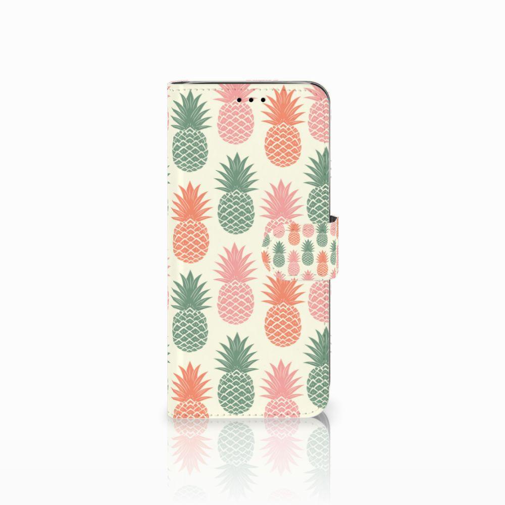 Samsung Galaxy A6 2018 Boekhoesje Design Ananas