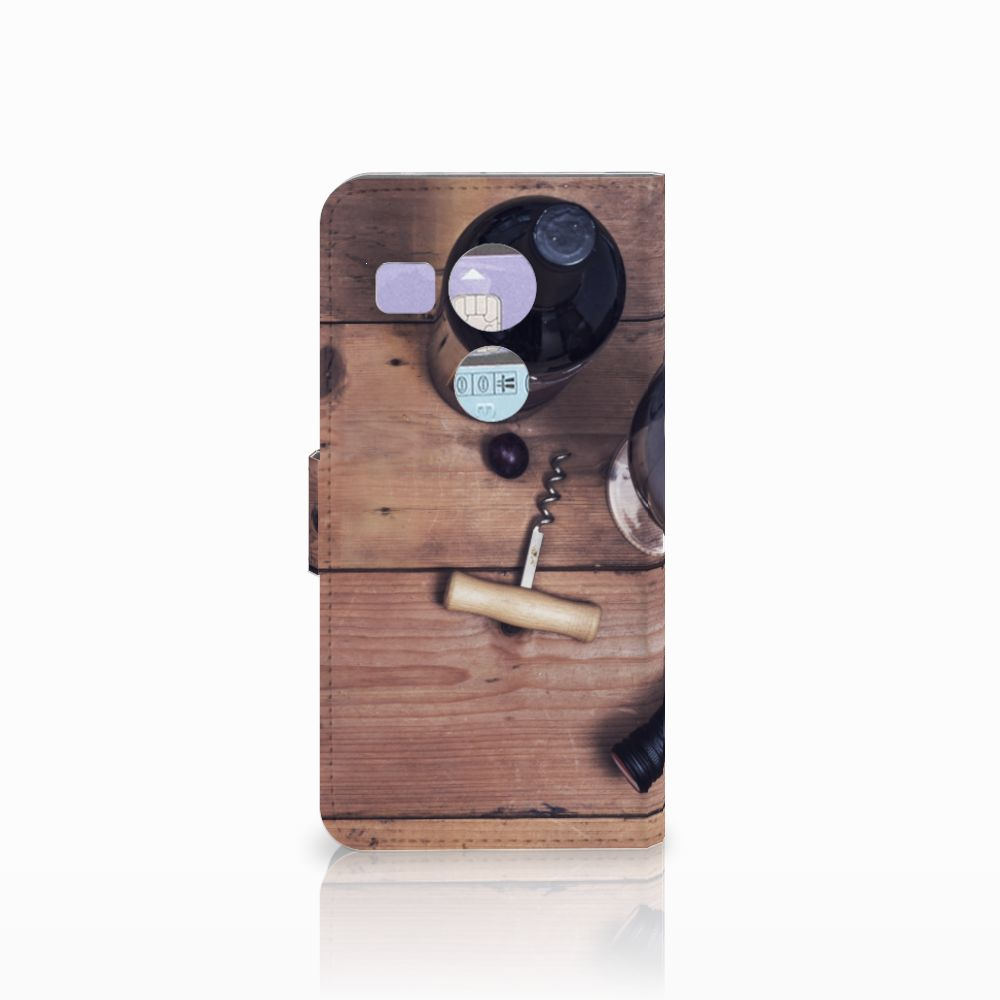 LG Nexus 5X Book Cover Wijn