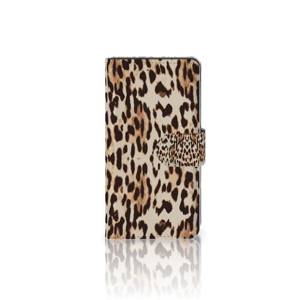 Motorola Moto G 3e Generatie Uniek Boekhoesje Leopard