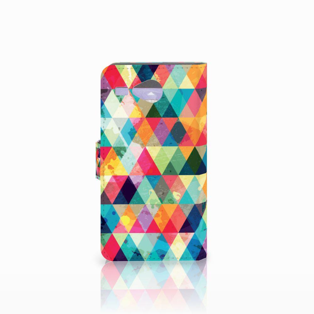 Acer Liquid Z520 Telefoon Hoesje Geruit