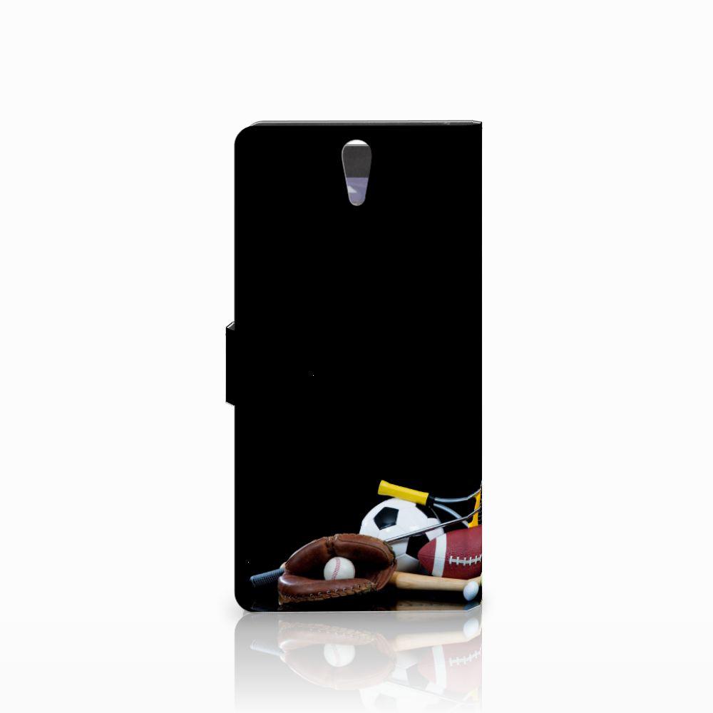 Sony Xperia C5 Ultra Wallet Case met Pasjes Sports