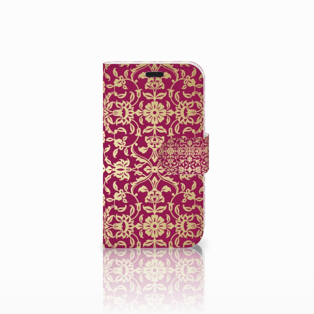 LG L Fino Boekhoesje Design Barok Pink