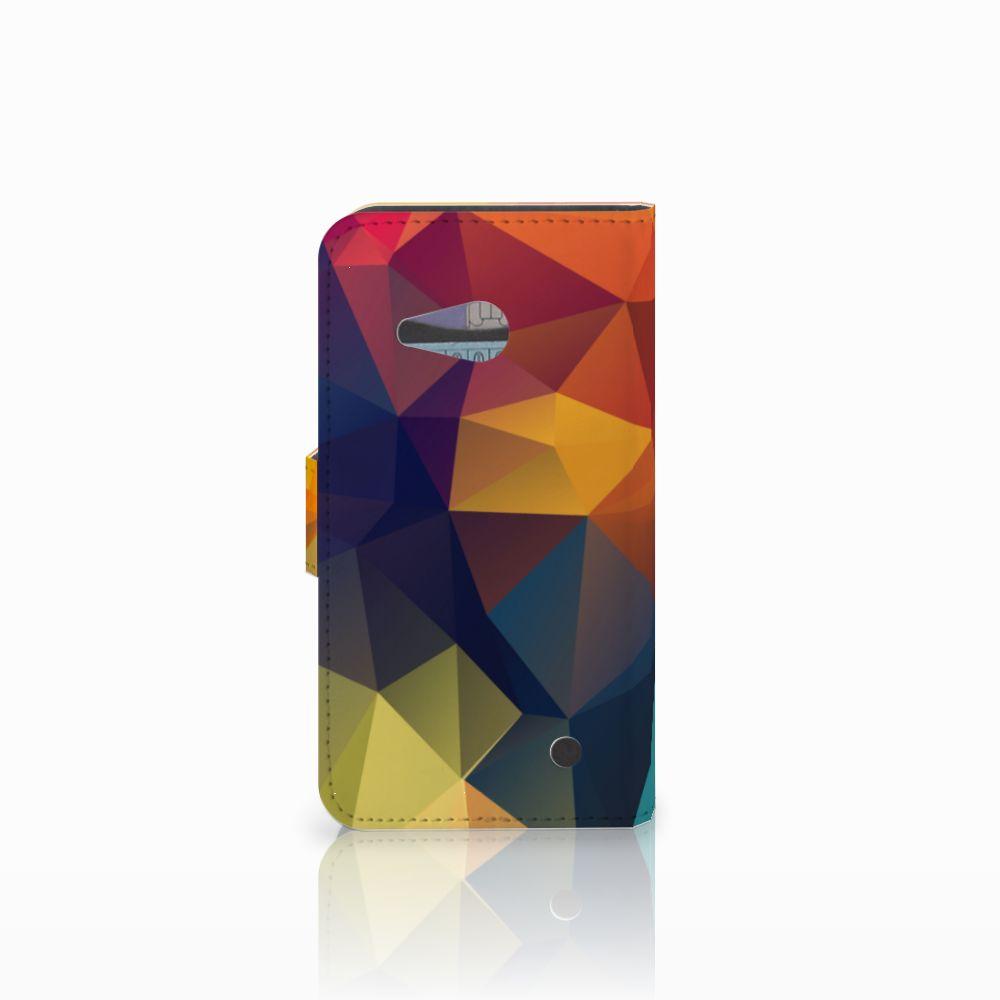 Microsoft Lumia 550 Bookcase Polygon Color