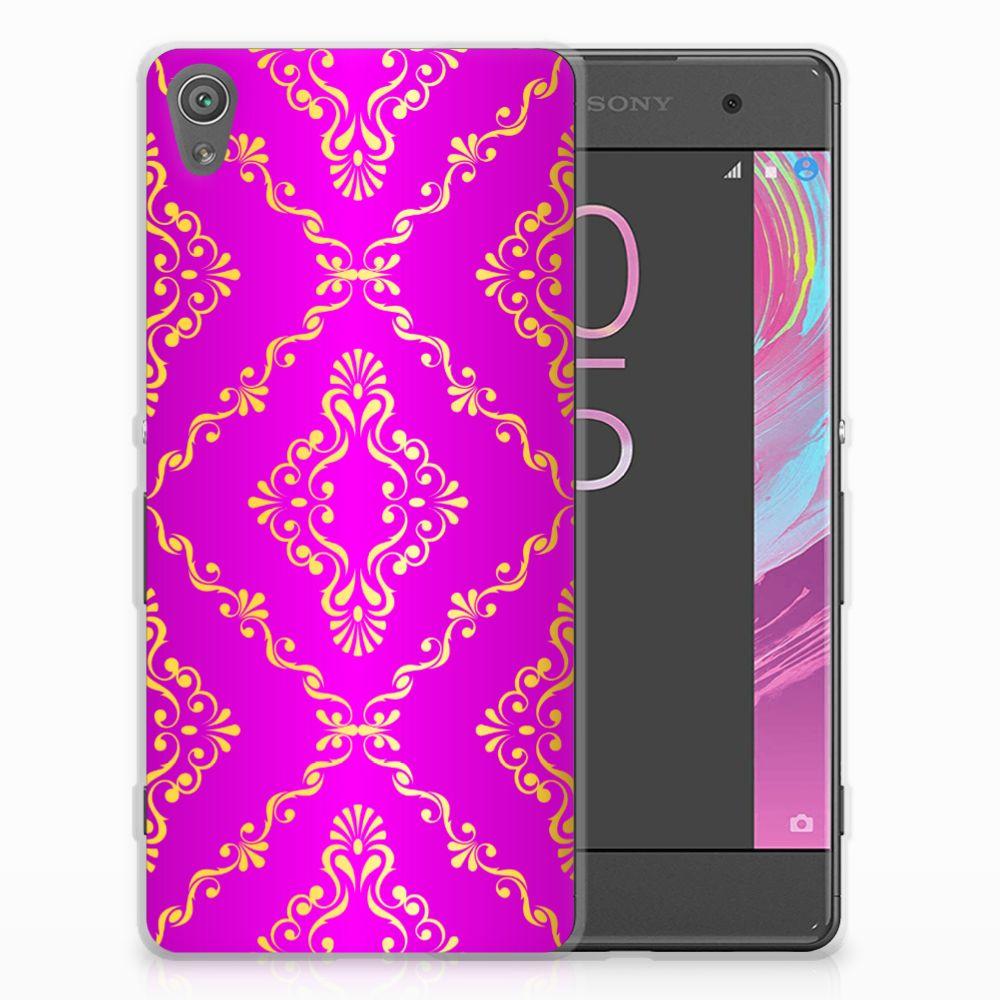 Siliconen Hoesje Sony Xperia XA | XA Dual Barok Roze