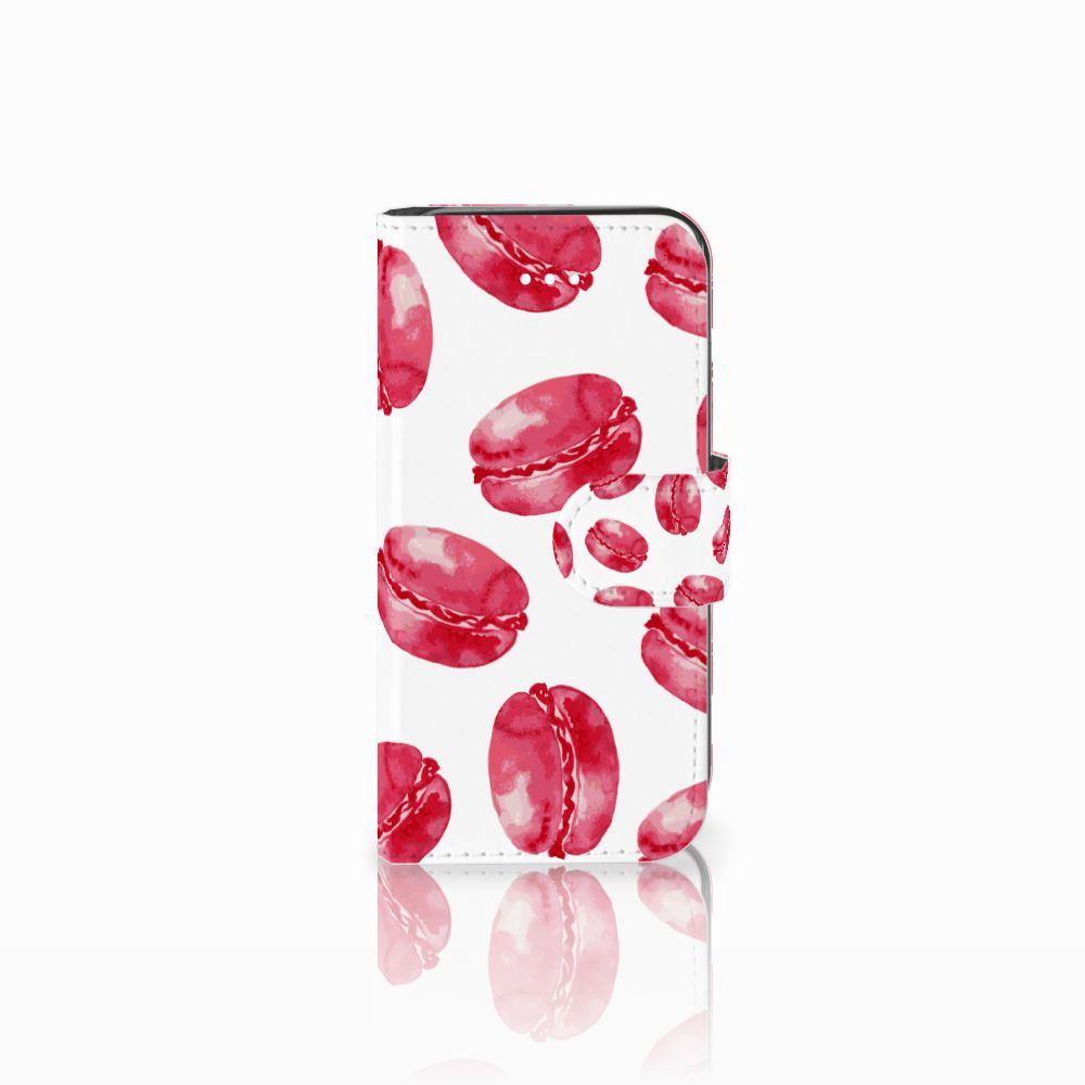 Apple iPhone 5 | 5s | SE Boekhoesje Design Pink Macarons