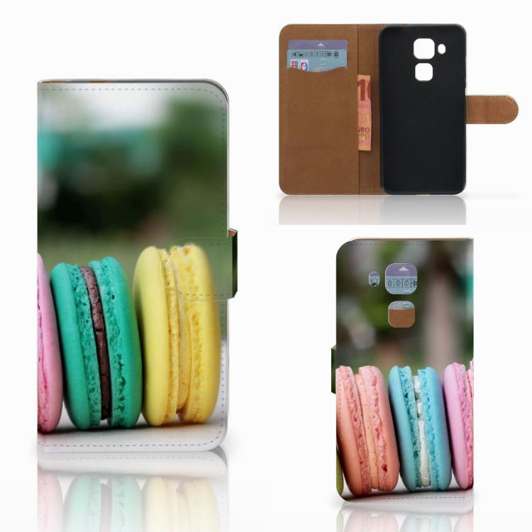 Huawei Nova Plus Book Cover Macarons