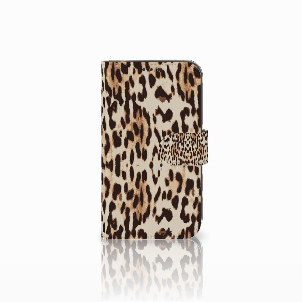 Samsung Galaxy Xcover 4 Uniek Boekhoesje Leopard