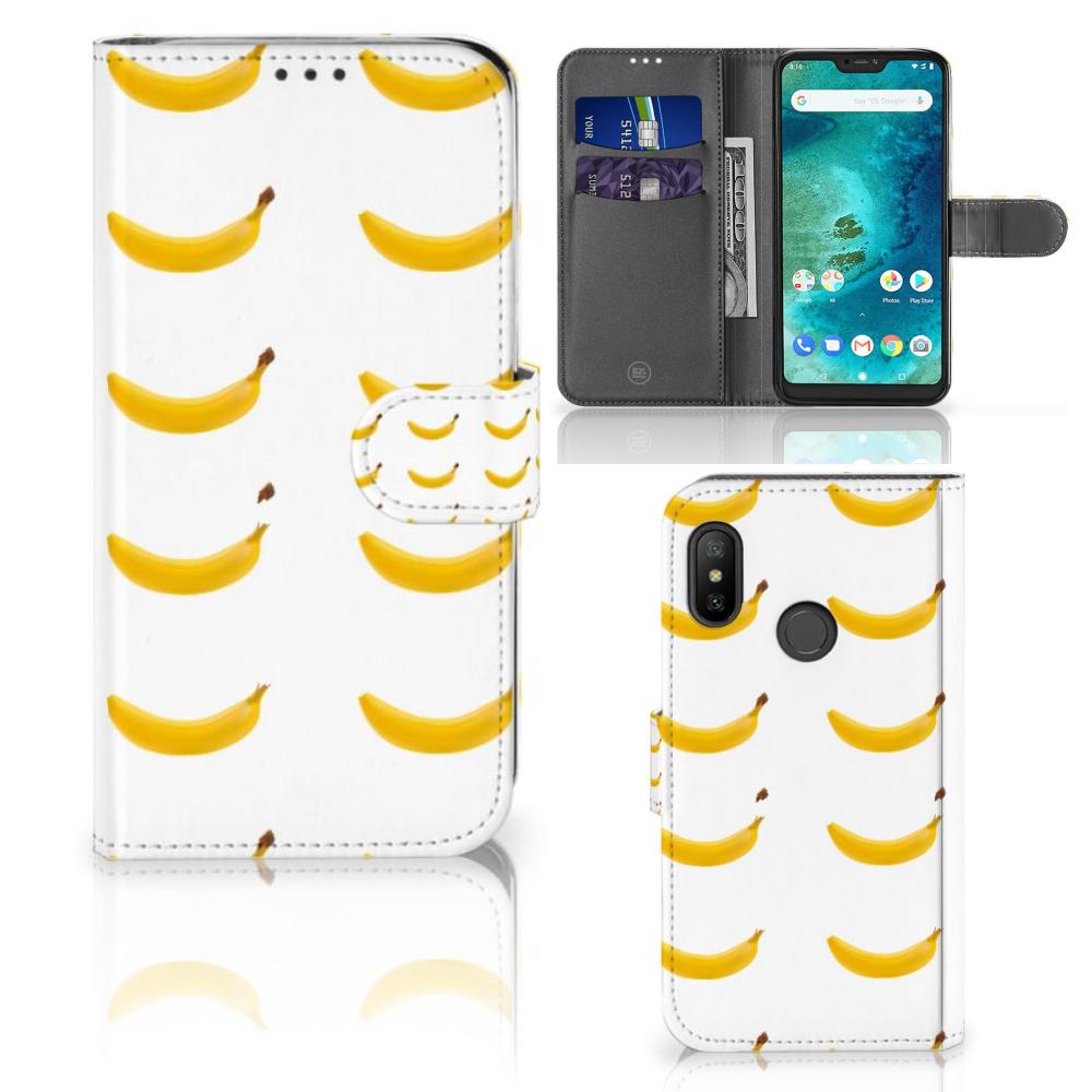 Xiaomi Mi A2 Lite Book Cover Banana