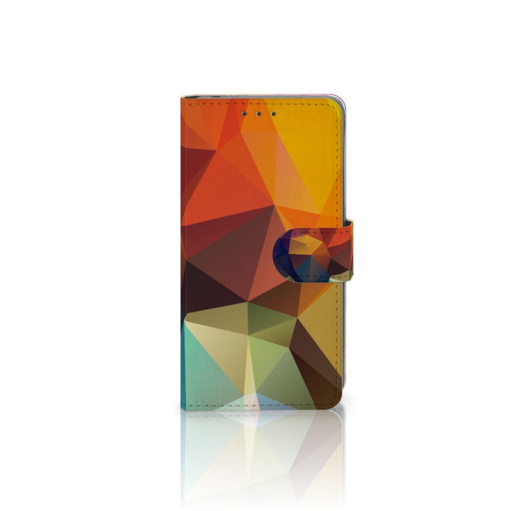 Sony Xperia Z2 Bookcase Polygon Color