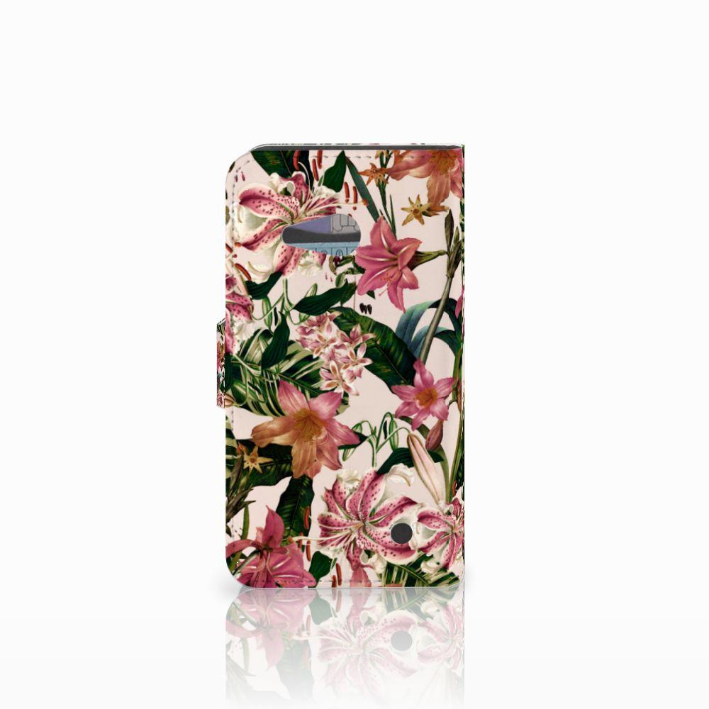 Microsoft Lumia 550 Hoesje Flowers