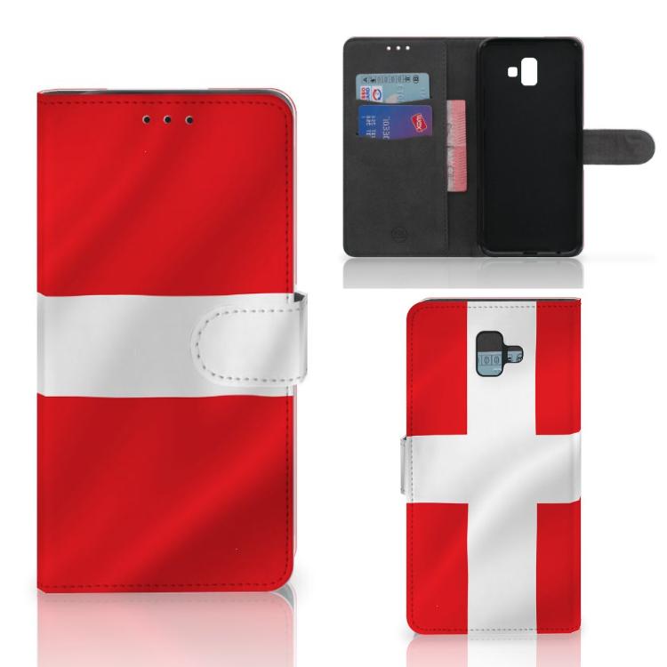 Samsung Galaxy J6 Plus (2018) Bookstyle Case Denemarken
