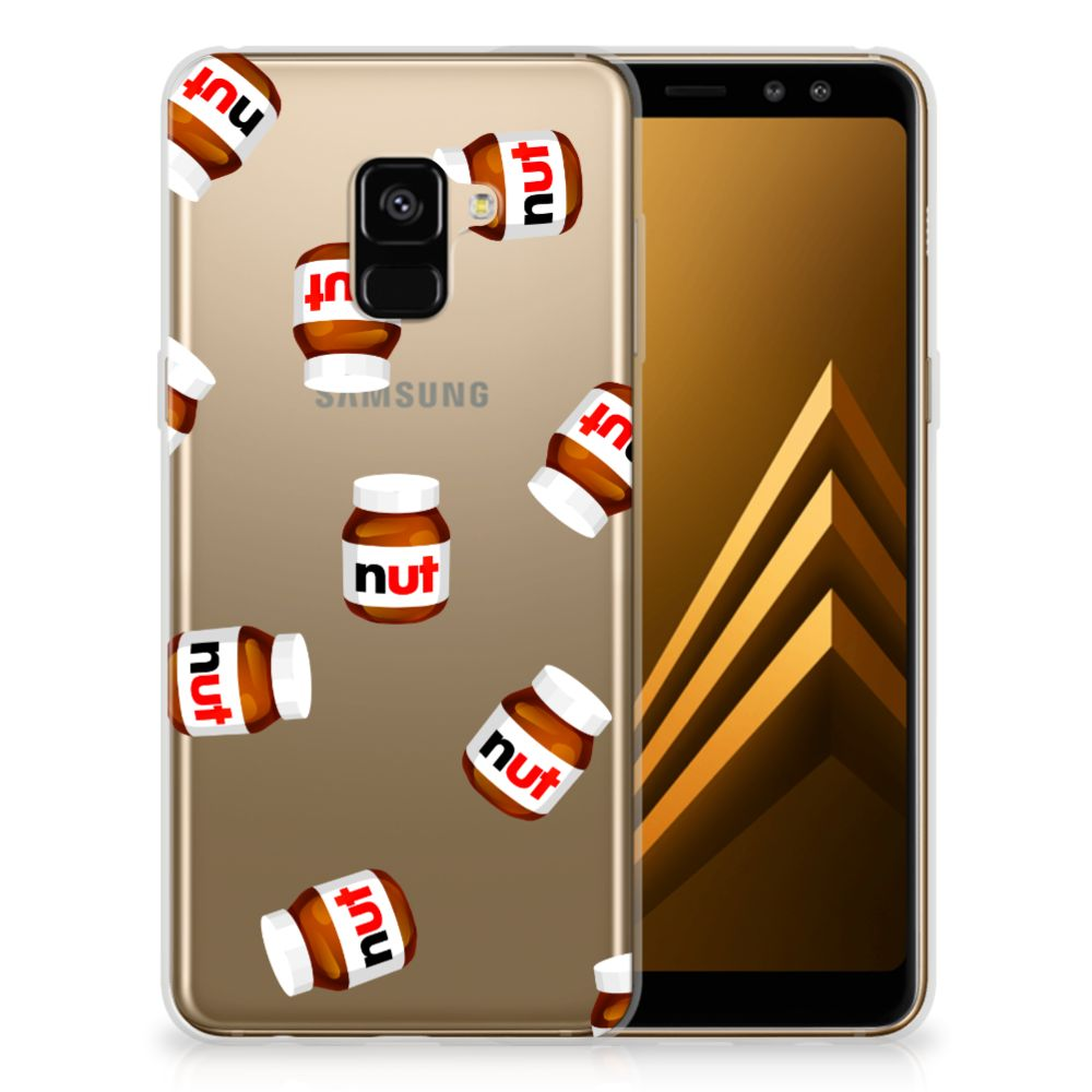 Samsung Galaxy A8 Plus (2018) Siliconen Case Nut Jar