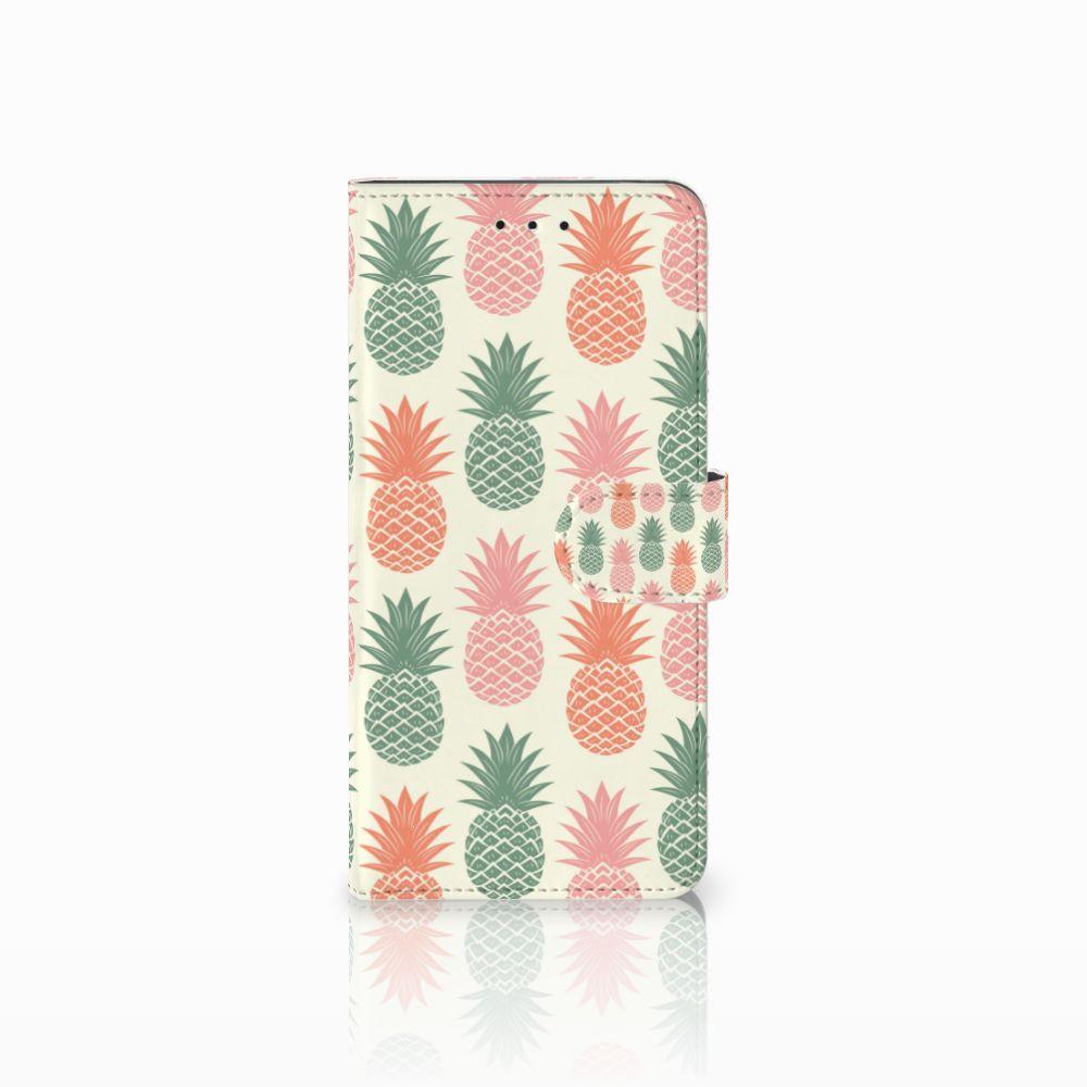 Motorola Moto E5 Plus Boekhoesje Design Ananas
