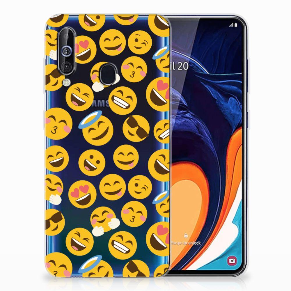 Samsung Galaxy A60 TPU bumper Emoji