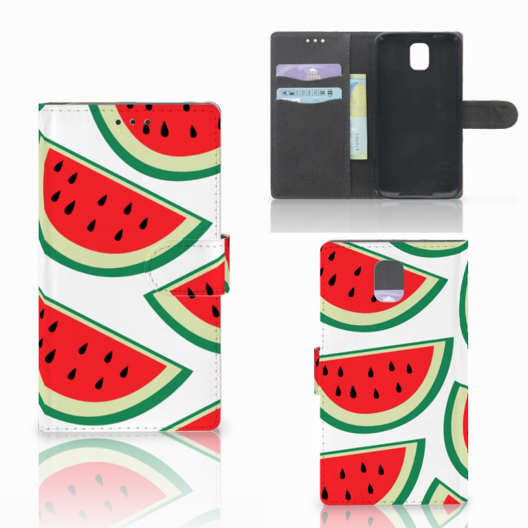 Samsung Galaxy Note 3 Book Cover Watermelons
