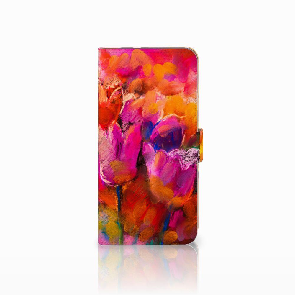 Google Pixel XL Boekhoesje Design Tulips