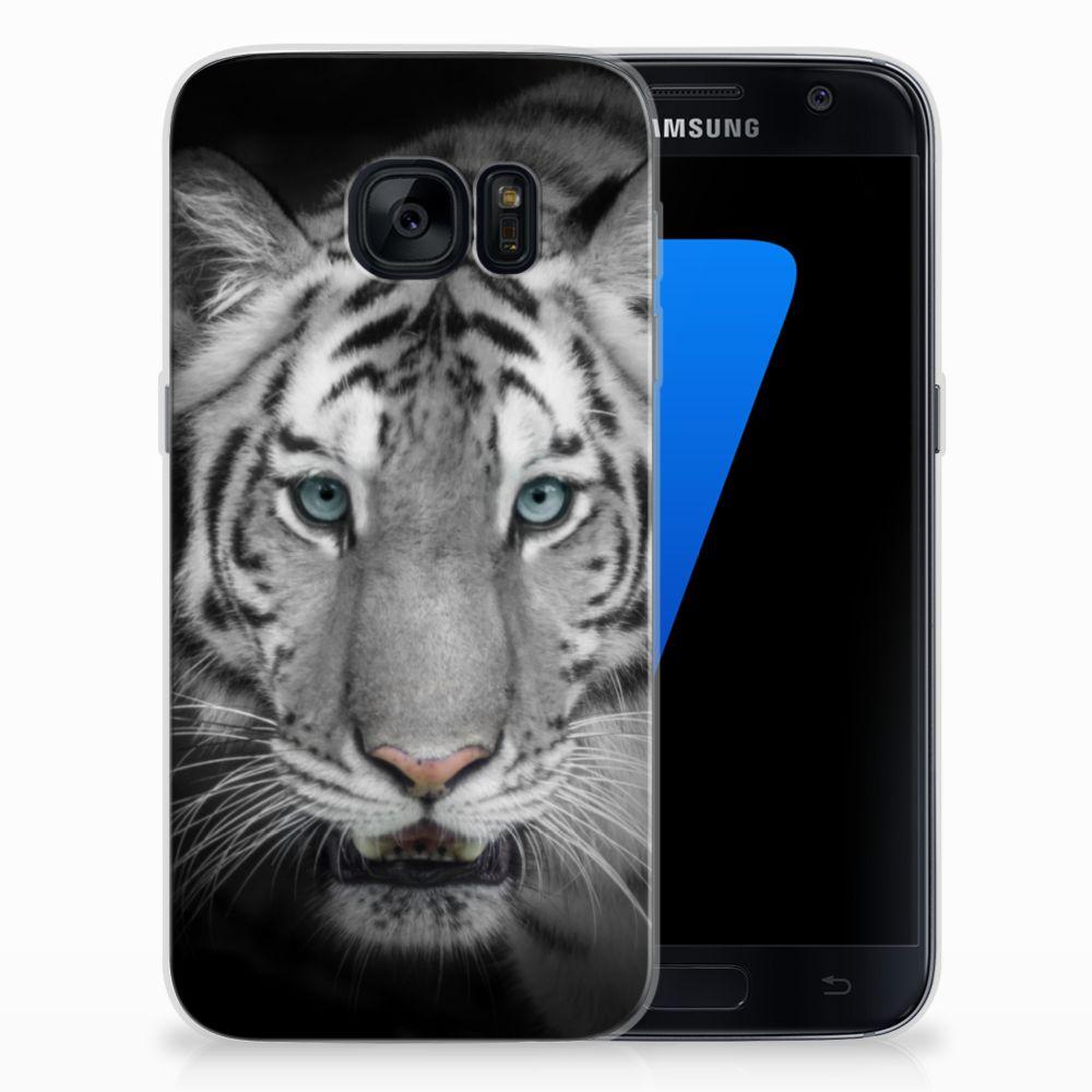 Samsung Galaxy S7 TPU Hoesje Tijger