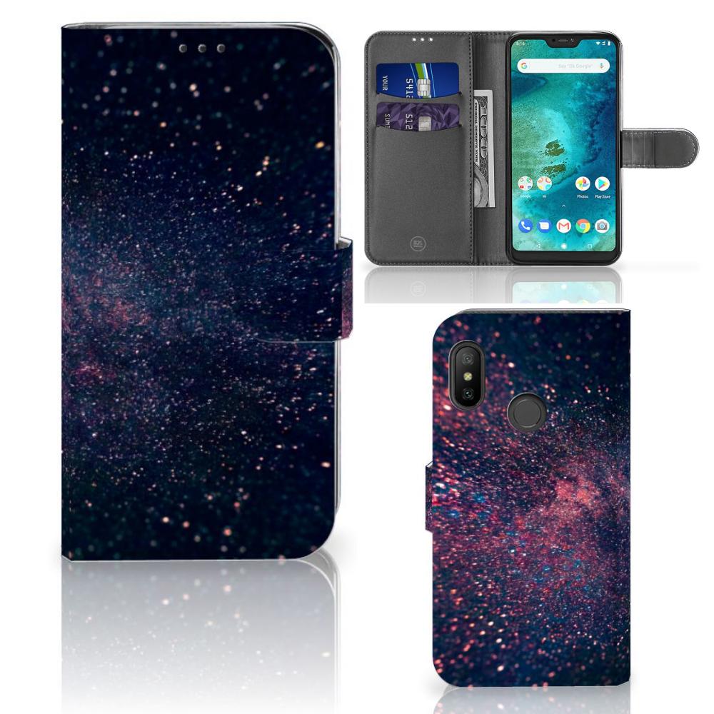 Xiaomi Mi A2 Lite Bookcase Stars
