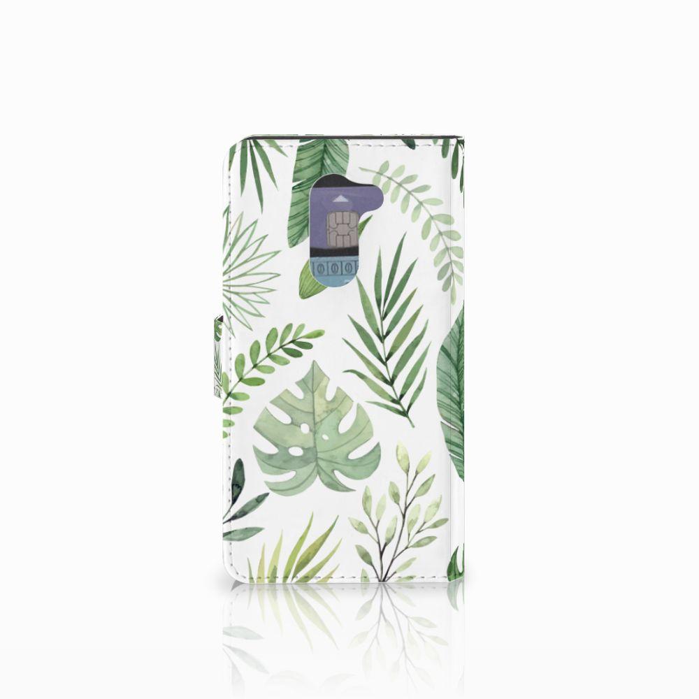 Huawei Honor 6X Hoesje Leaves