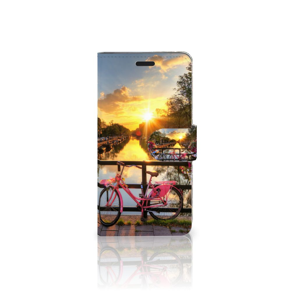 HTC 10 Uniek Boekhoesje Amsterdamse Grachten