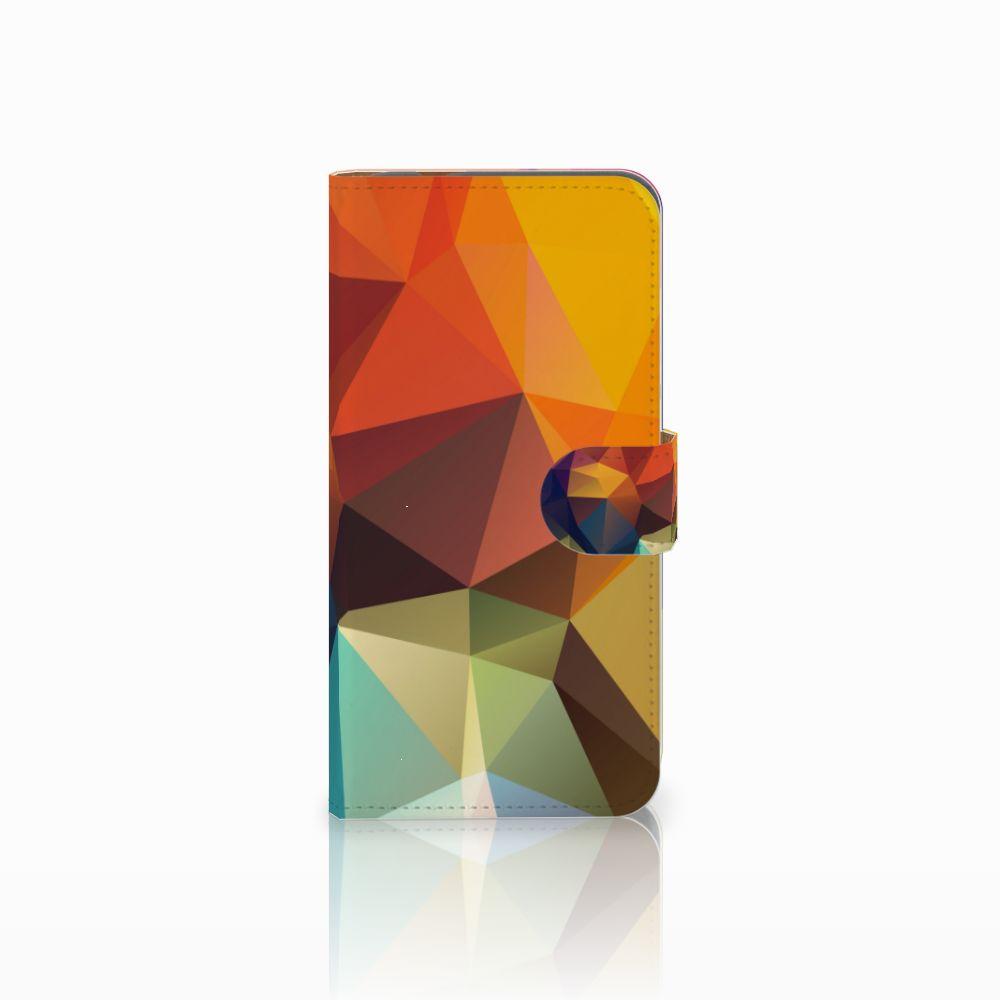 Huawei Nova Plus Boekhoesje Design Polygon Color