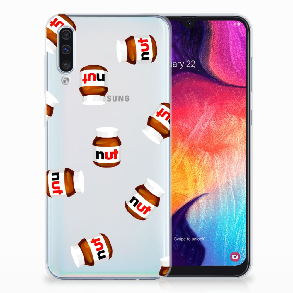 Samsung Galaxy A50 Siliconen Case Nut Jar