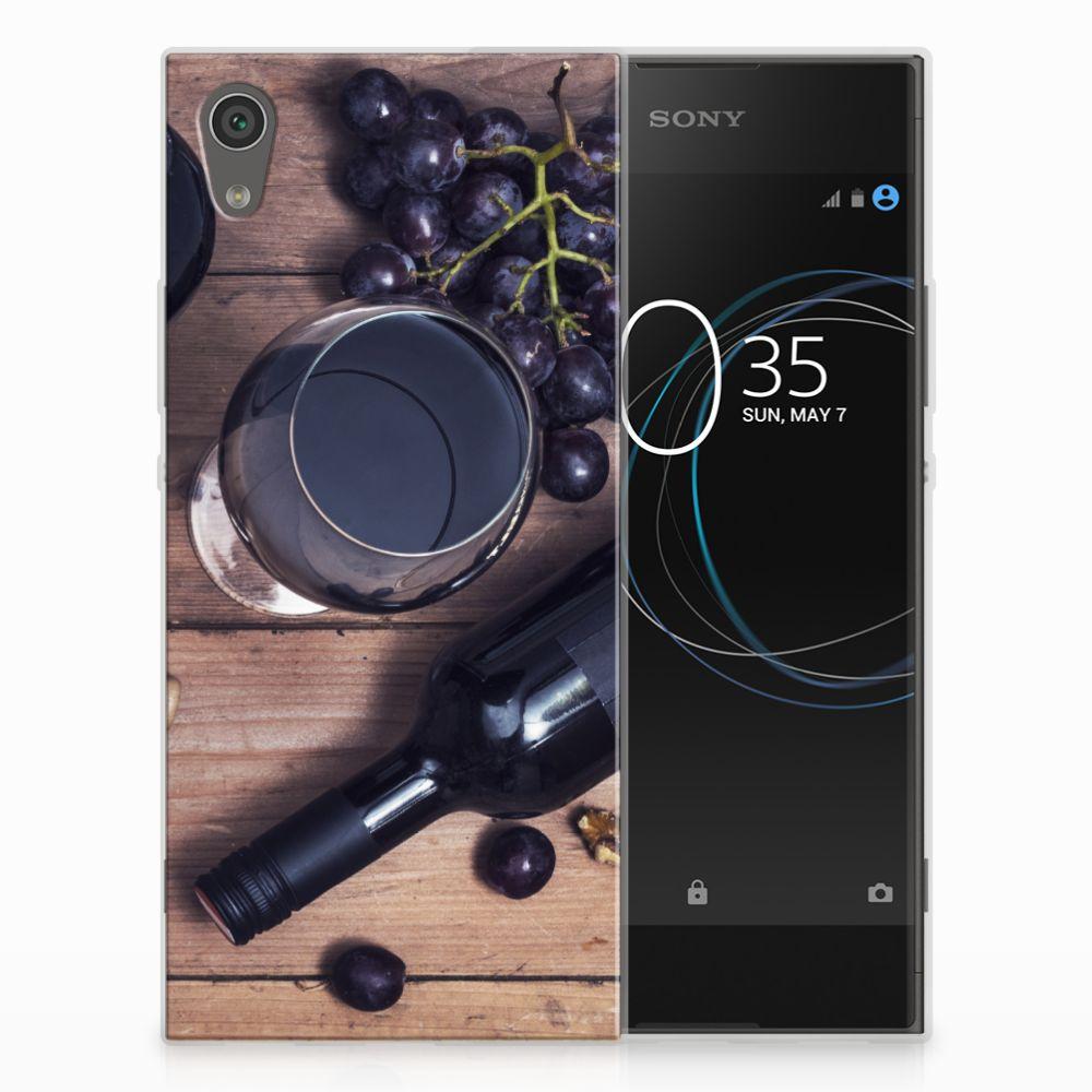 Sony Xperia XA1 Siliconen Case Wijn