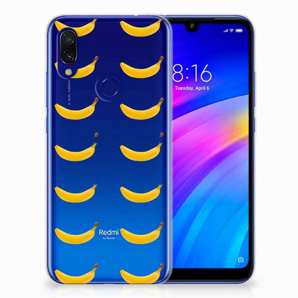 Xiaomi Redmi 7 Siliconen Case Banana
