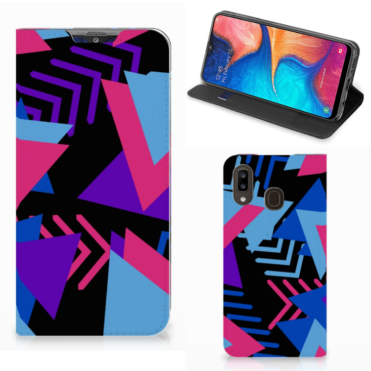 Samsung Galaxy A30 Stand Case Funky Triangle