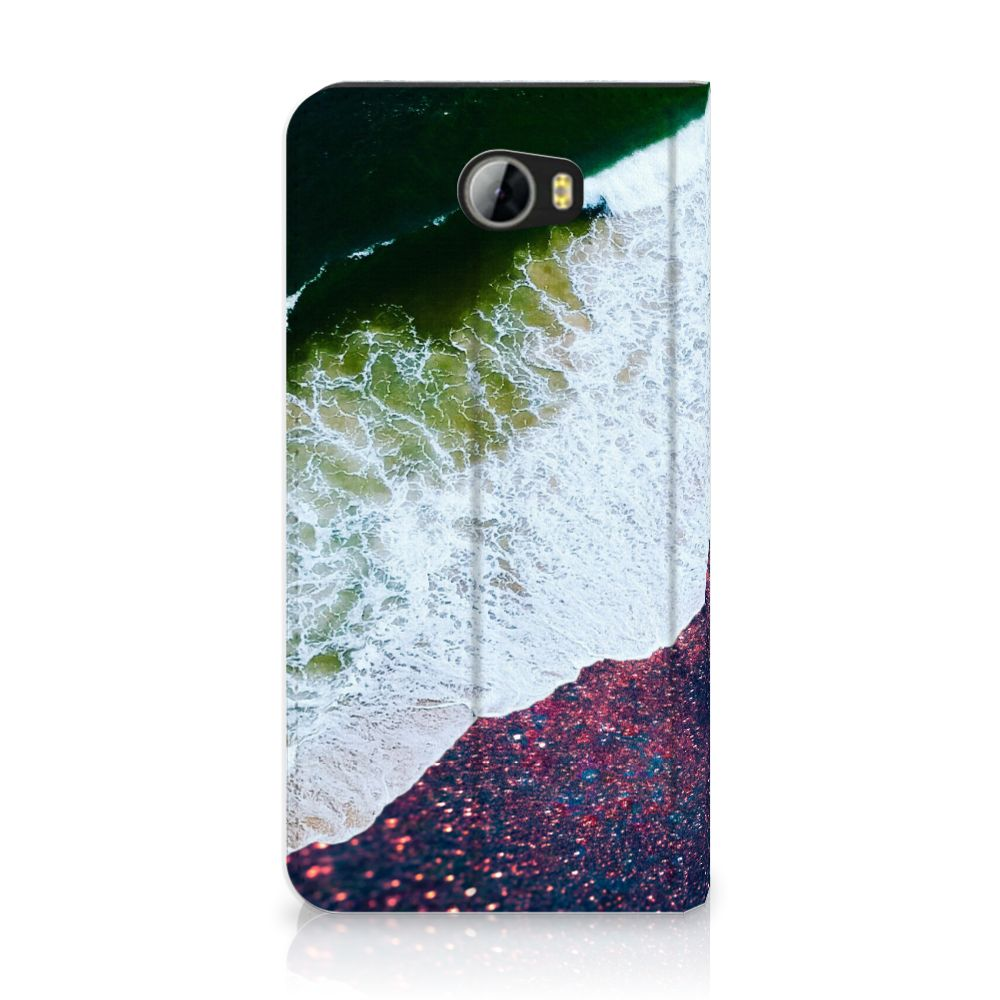 Huawei Y5 2 | Y6 Compact Stand Case Sea in Space