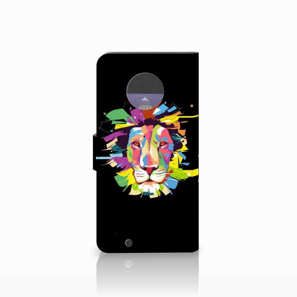 Motorola Moto G6 Leuk Hoesje Lion Color