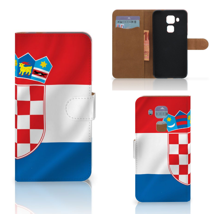 Huawei Nova Plus Bookstyle Case Kroatië