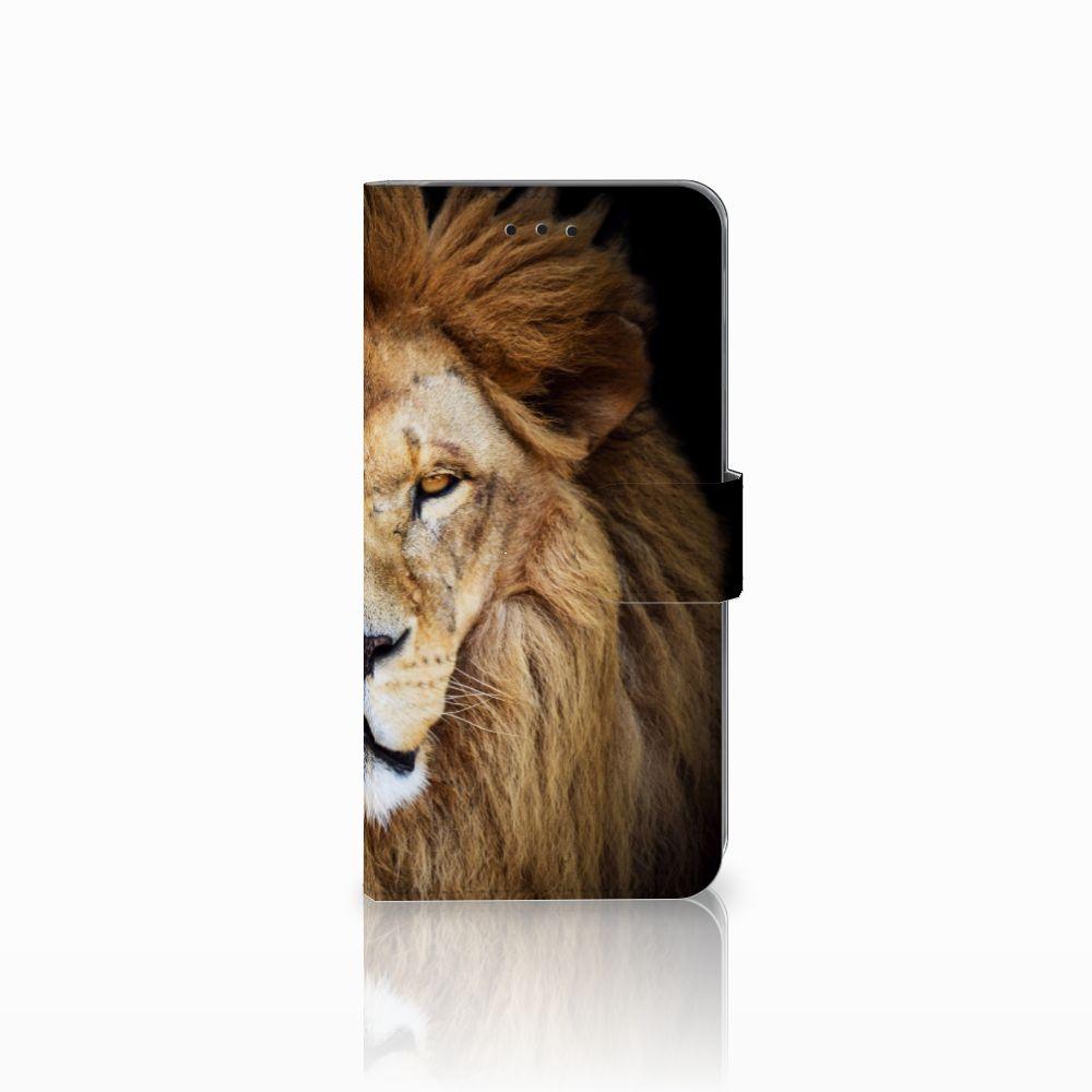 Samsung Galaxy A6 Plus 2018 Boekhoesje Design Leeuw