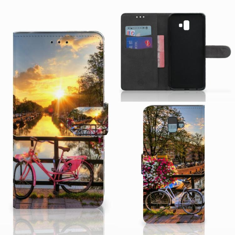 Samsung Galaxy J6 Plus (2018) Flip Cover Amsterdamse Grachten