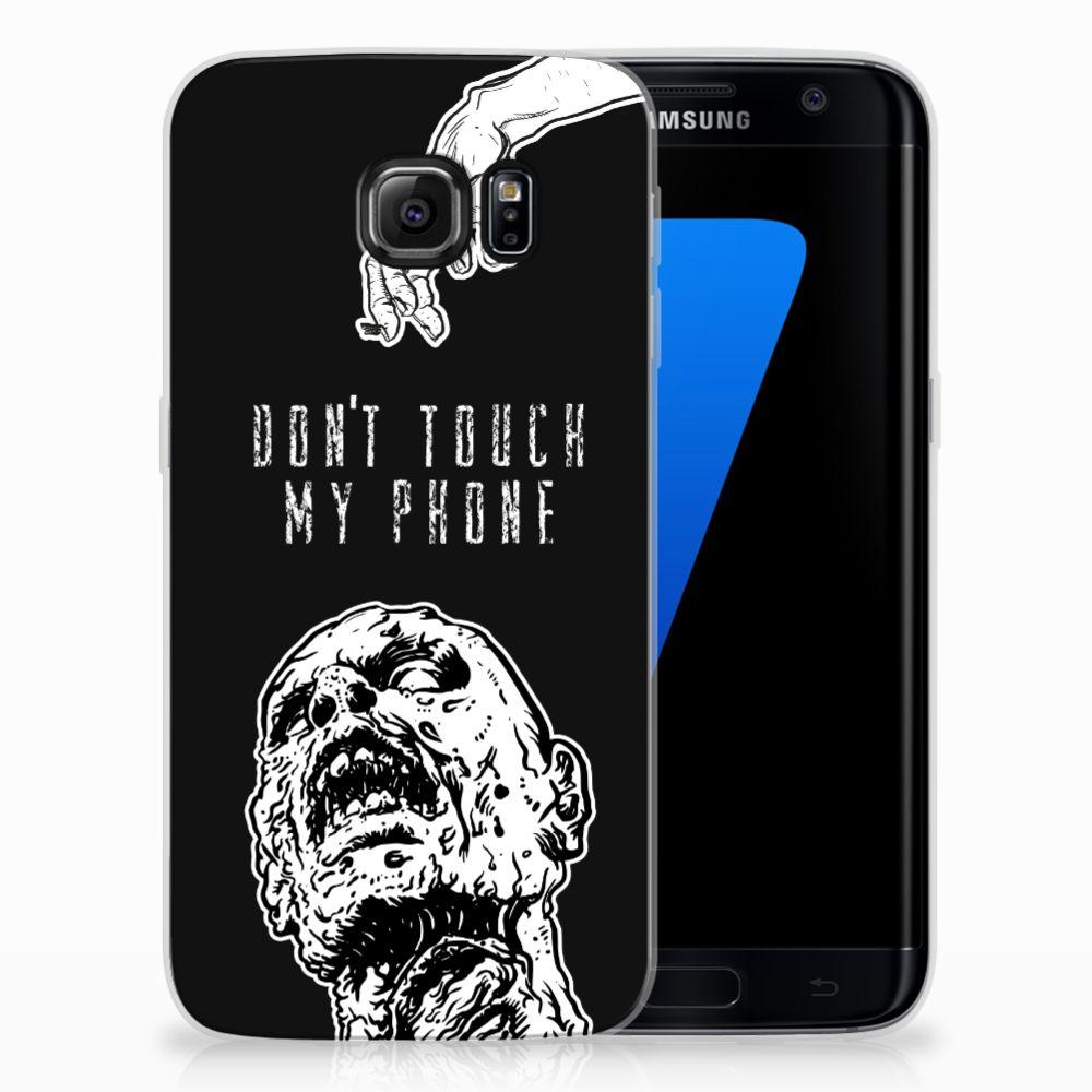 Silicone-hoesje Samsung Galaxy S7 Edge Zombie