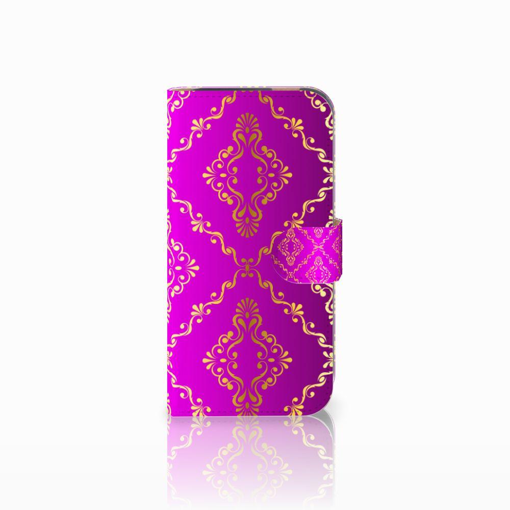 HTC One M8 Uniek Boekhoesje Barok Roze