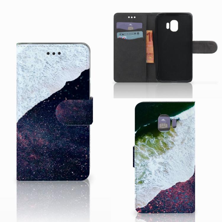 Samsung Galaxy J2 Pro 2018 Bookcase Sea in Space