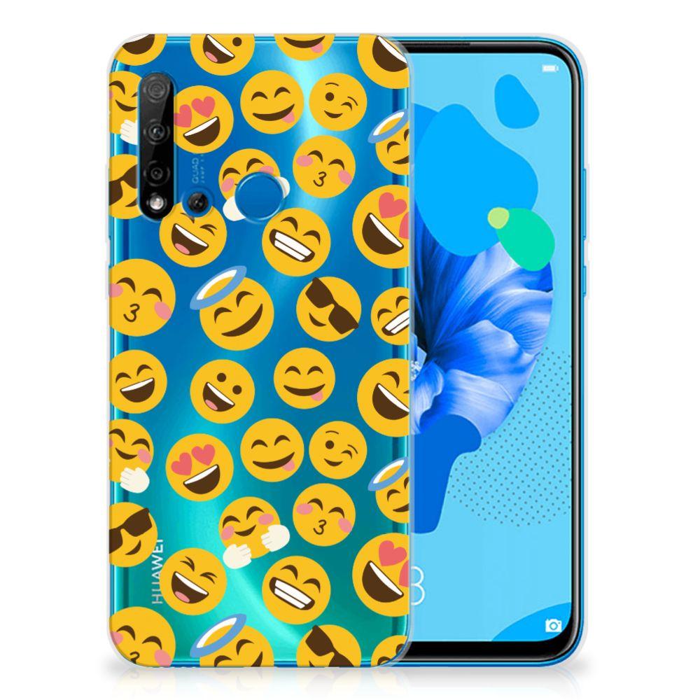 Huawei P20 Lite (2019) TPU bumper Emoji