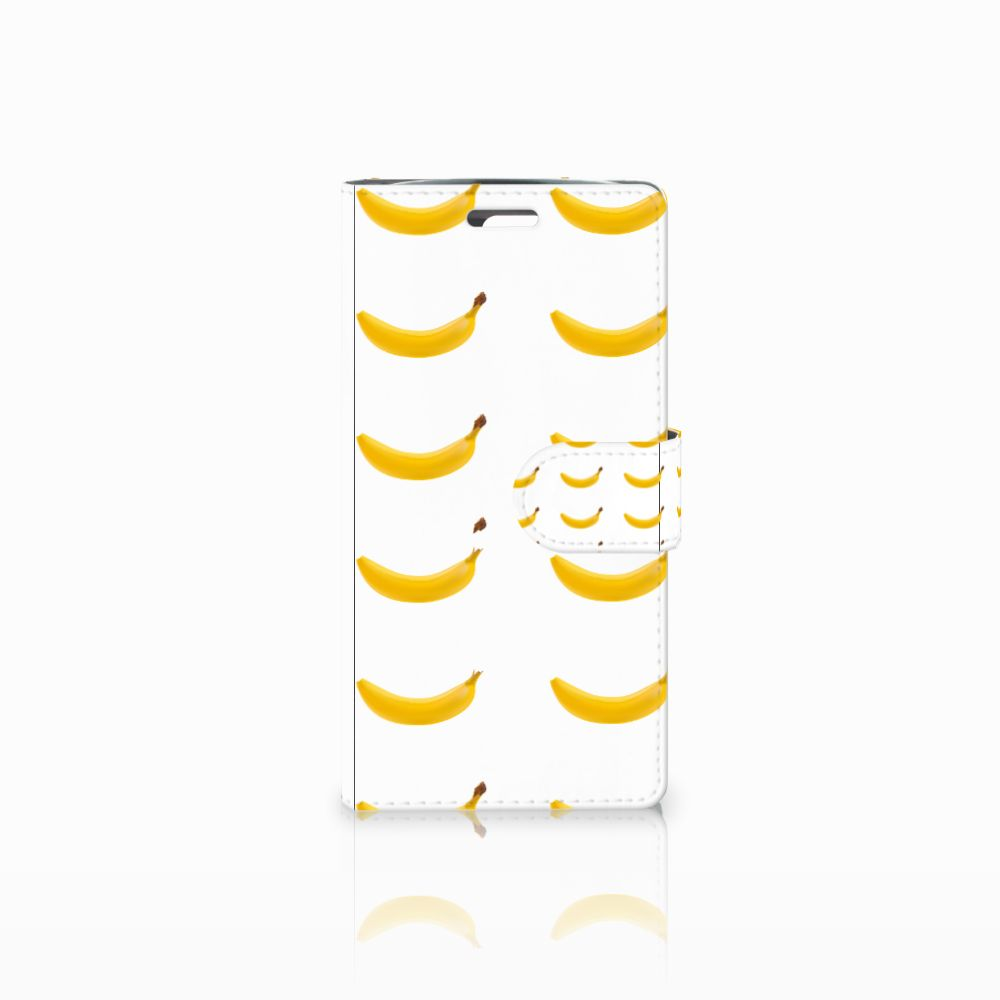LG K10 2015 Uniek Boekhoesje Banana