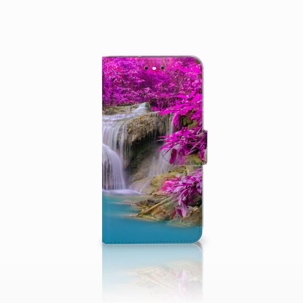 Motorola Moto G4 | G4 Plus Uniek Boekhoesje Waterval