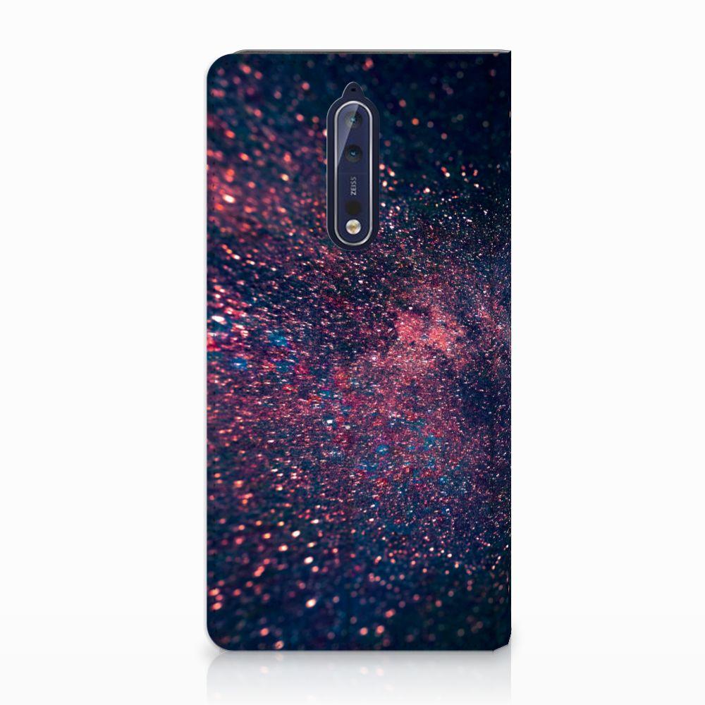 Nokia 8 Standcase Hoesje Design Stars