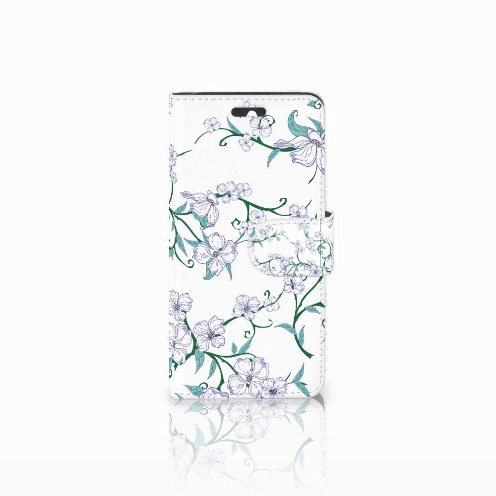 Huawei Ascend Y550 Uniek Boekhoesje Blossom White