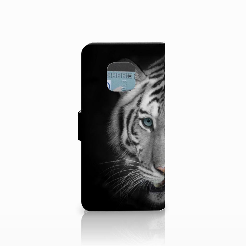 Huawei Mate 20 Pro Telefoonhoesje met Pasjes Tijger